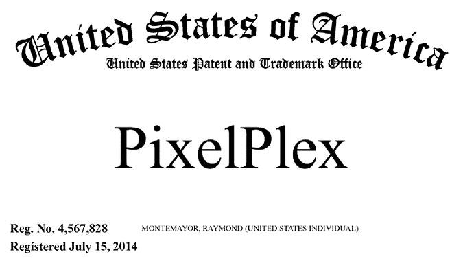 PixelPlex Trademark Notice